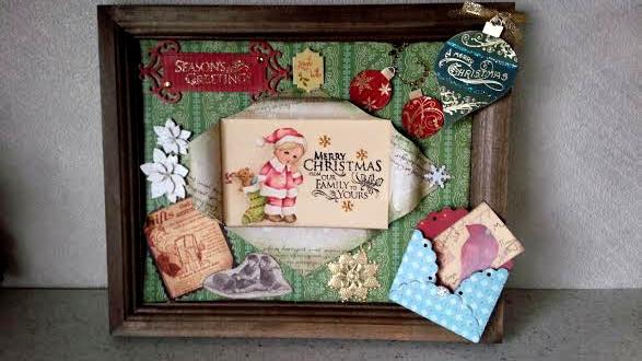 X'mas Sale  コラージュクリスマスフレーム