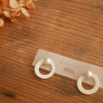 enn pierce/earring -siro-