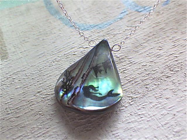 ☆再販☆ Under The Sea 海の底の人魚のネックレス Silver925