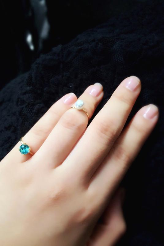Colorful Phalange/Pinky Ring