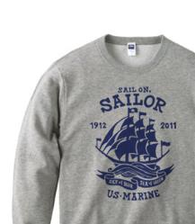 Sail On,Sailor★マリ トレーナー【受注生産品】