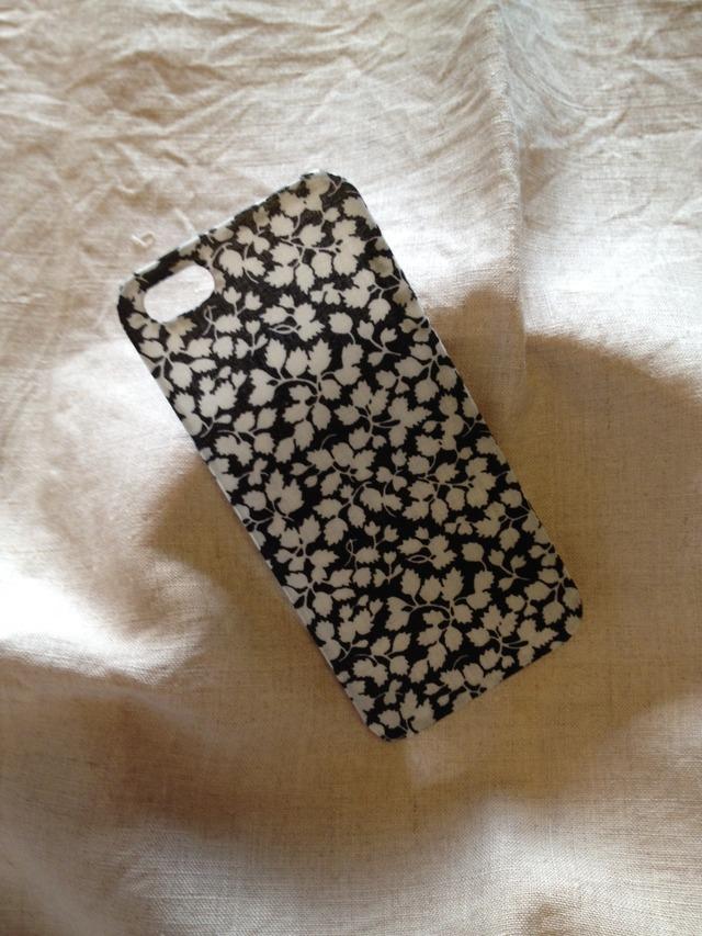 リバティ iphoneケース iphone5/5s(グレンジェイド)