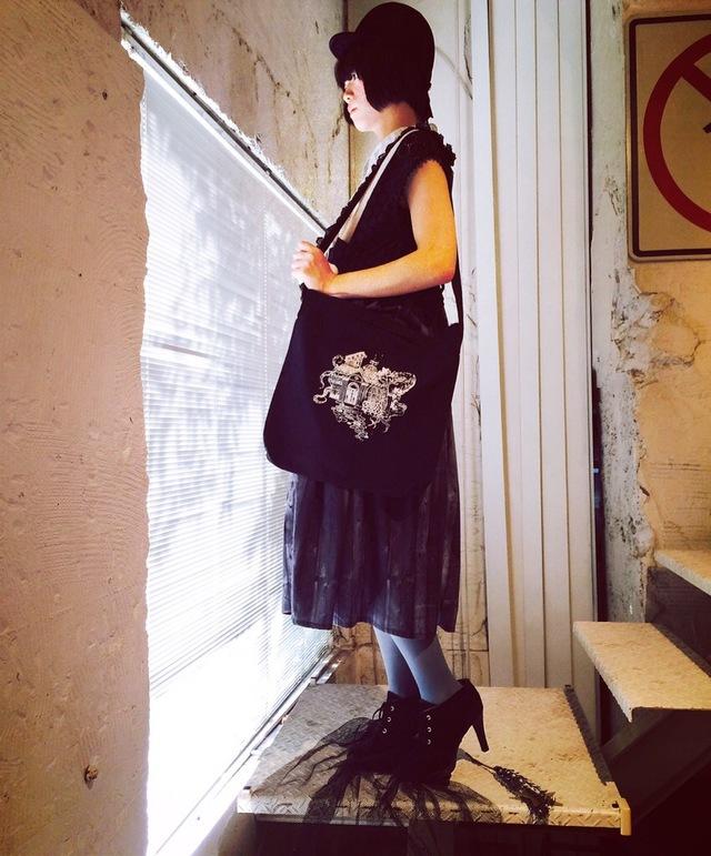 黒花 メゾンドモリ Bag