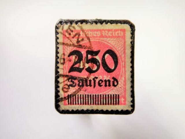 ドイツ 1923年「加刷切手」112