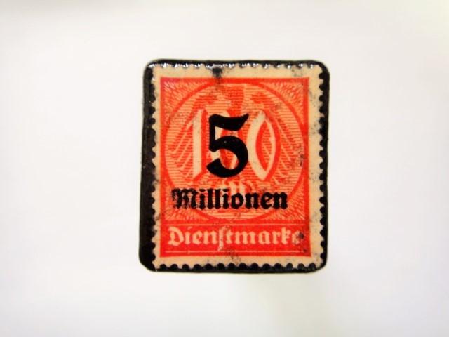 ドイツ 1923年「加刷切手」113