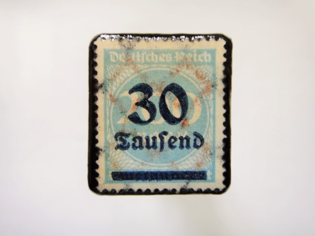 ドイツ 1923年「加刷切手」114