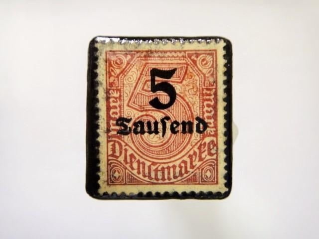 ドイツ 1923年「加刷切手」115