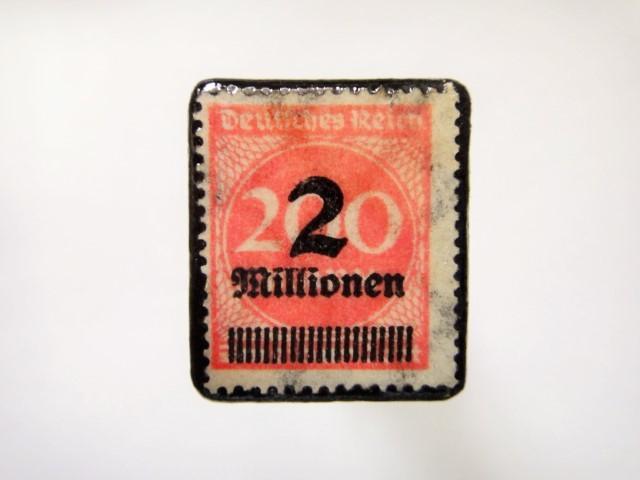 ドイツ 1923年「加刷切手」116