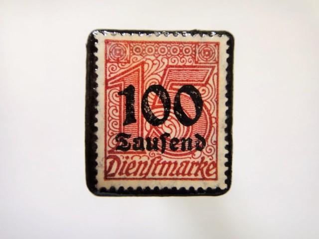 ドイツ 1923年「加刷切手」120