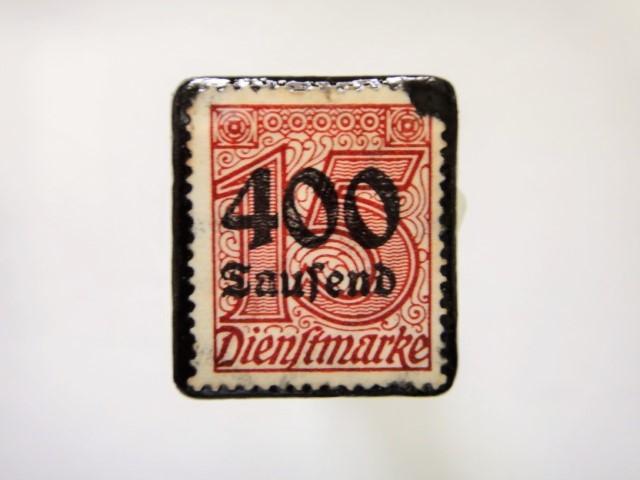 ドイツ 1923年「加刷切手」121