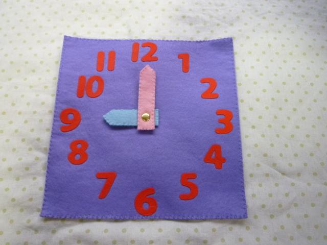 時計(紫)