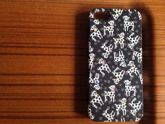 *iPhone4/5/5s/5c/6/6s*Dalmatian dots*BK*��Хƥ�*���С�*