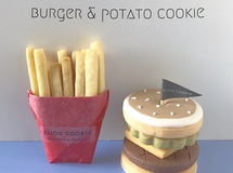 Burger set cookie