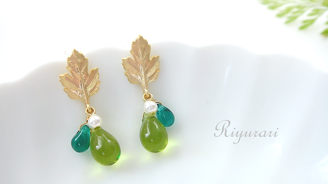Green leaf pierce