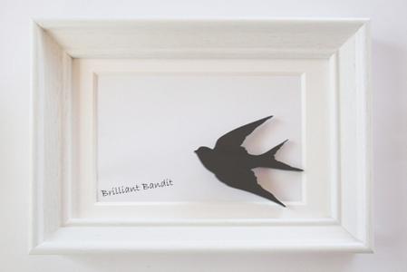 【森の小鳥】 ブローチ