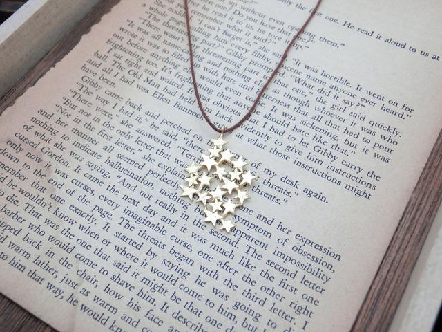 星いっぱいのネックレス