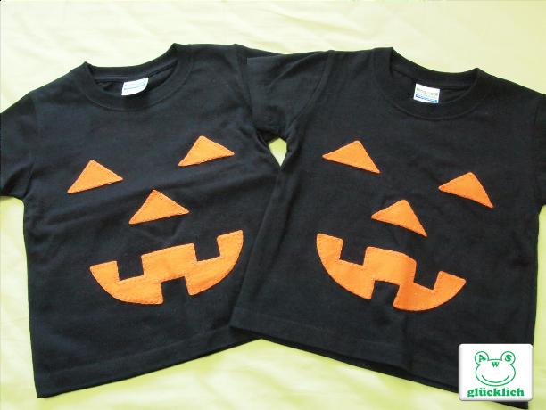 【A様オーダー品】ハロウィンTシャツ2着100サイズ