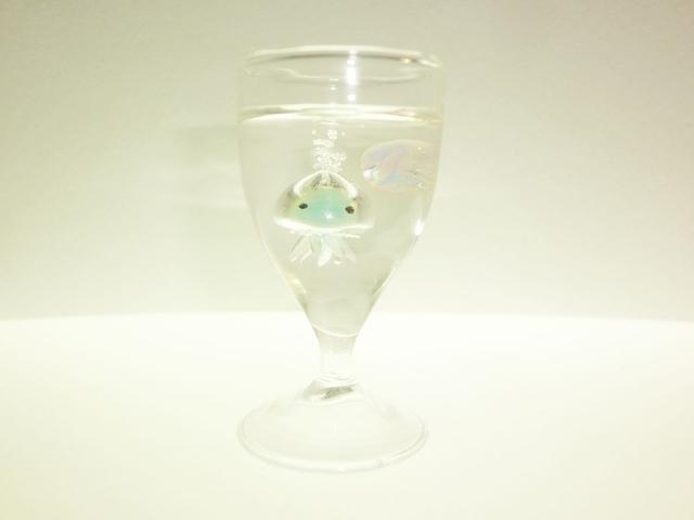 くらげアクアリウム ミニワイングラス クラゲ