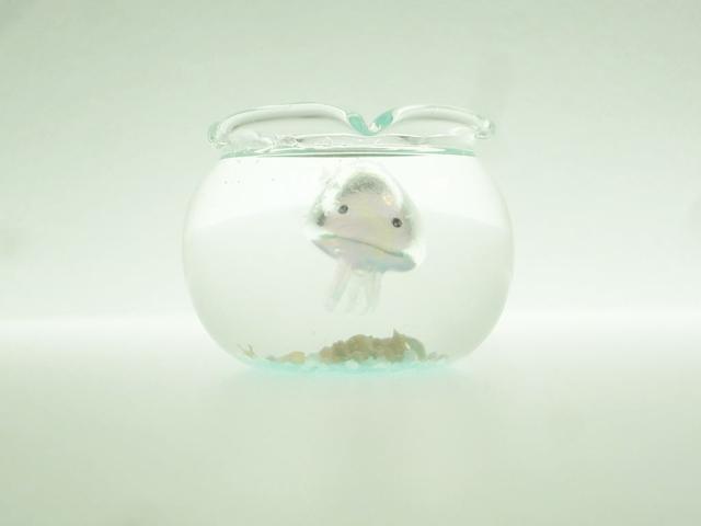 ぷちアクアリウムくらげちゃん 金魚鉢とクラゲC