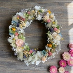 夏のoval wreath   25㎝