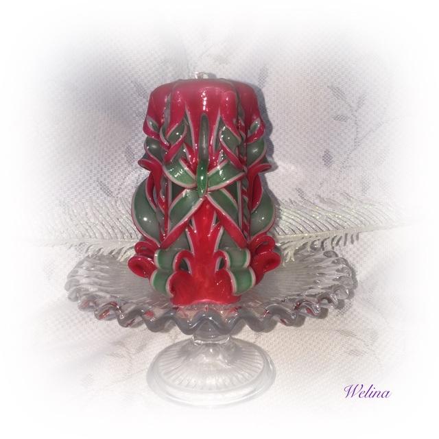 ハーフXSサイズ クリスマスキャンドル(ハワイアンキャンドル)