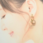 ∞ shell pierce / earring