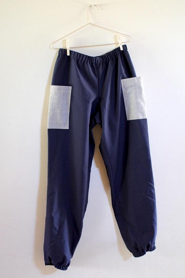 おとなパンツ(裾絞り紺)