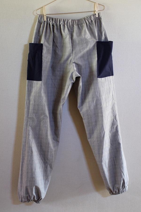 おとなパンツ(裾絞りチェック)