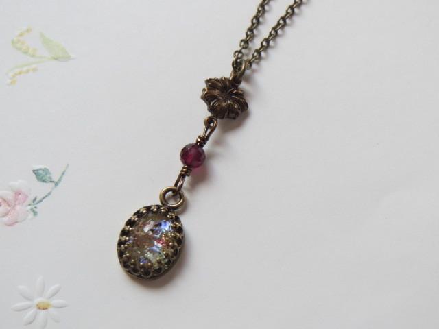 Klimt~ドラゴンブレスのネックレス
