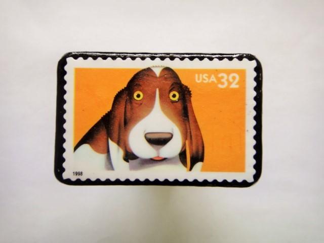 アメリカ 1998年切手ブローチ 131