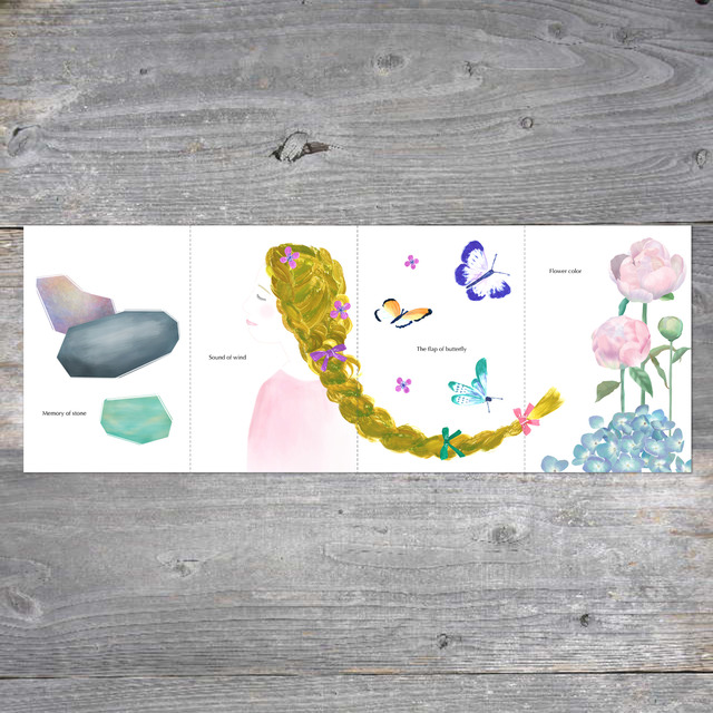 4枚綴りポストカード[lilic-Lickの森]Vol.02