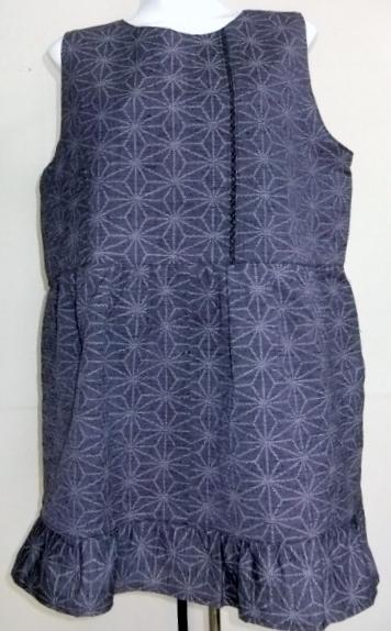 着物リメイク 着物で作ったロングベスト 682