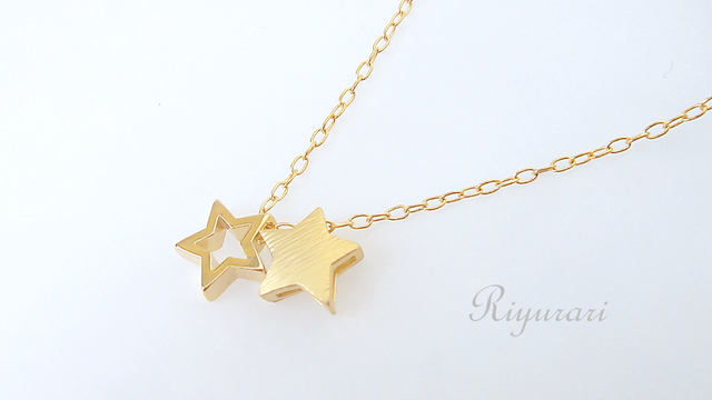 Twin-Star necklace
