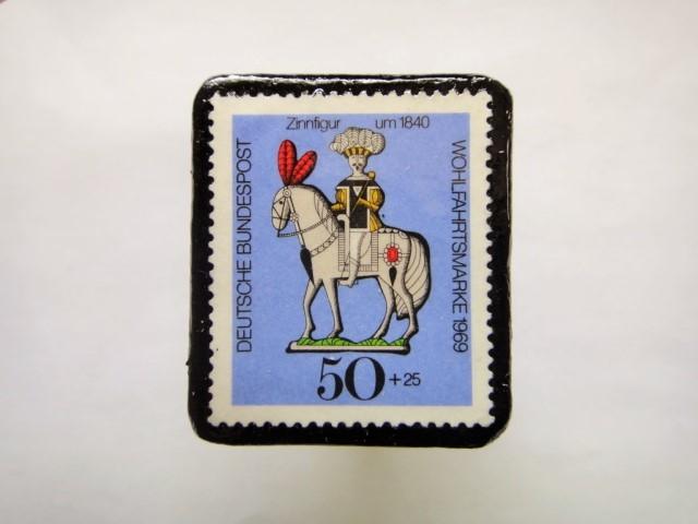 ドイツ1969年 おもちゃ切手ブローチ134