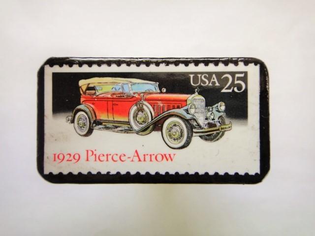 アメリカ1988年 クラシックカー切手ブローチ140