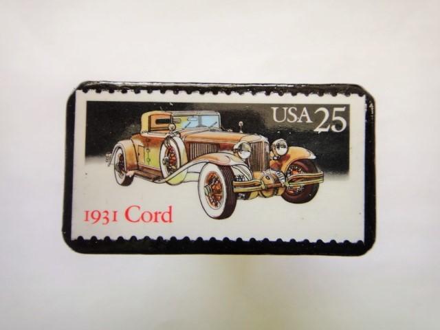 アメリカ1988年 クラシックカー切手ブローチ141