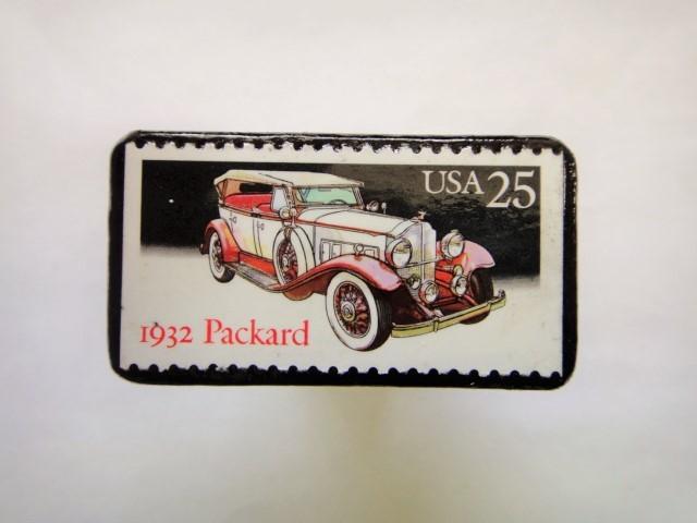 アメリカ1988年 クラシックカー切手ブローチ143