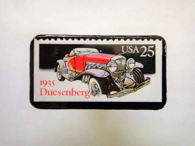 アメリカ1988年 クラシックカー切手ブローチ144