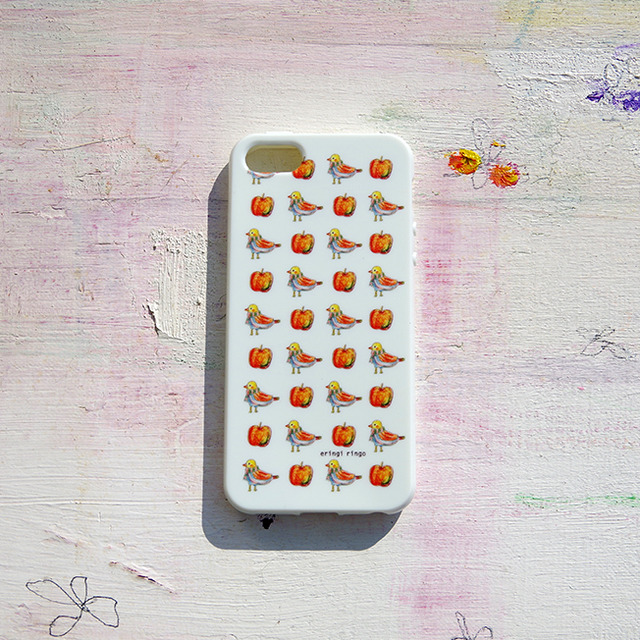 とりとリンゴの過ごし方 iPhone case(5/5S)