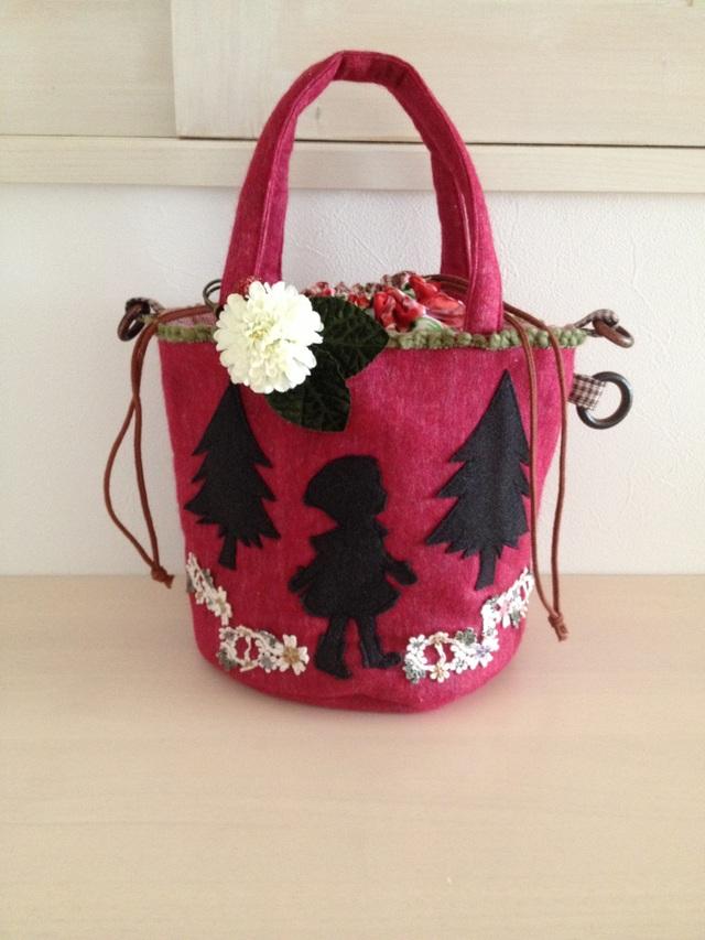 赤ずきんちゃんの3wayバッグ