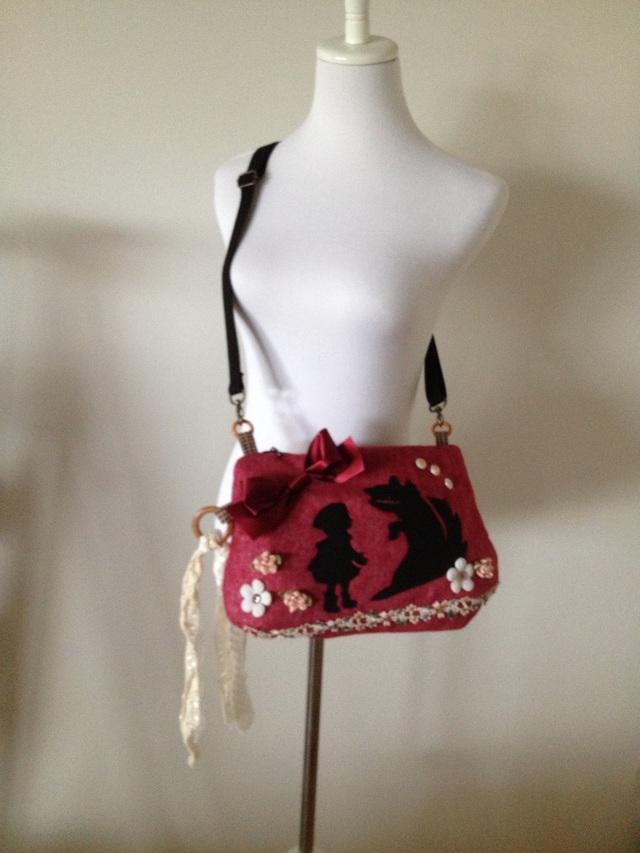 赤ずきんちゃんのショルダーバッグ