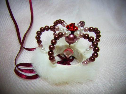 赤いバラのミニクラウン[レッド]【SD用】