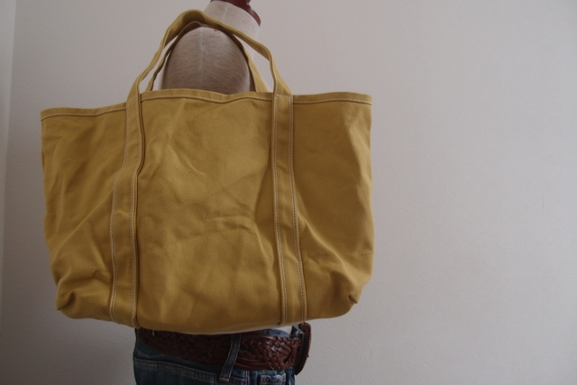 ANIS YELLOW-WHITE TOTE