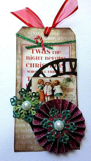 ミンネのクリスマス2015 コラージュ タグ