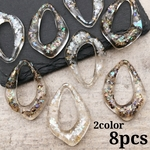 【chmm3922acrc】【2color 8pct】clear frame drop charm