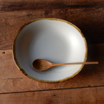 B級品  Pasta&Curry&Soup Plate(白マット)