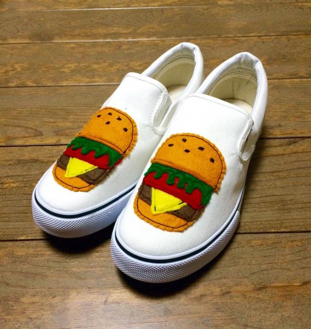 ハンバーガーレディーススニーカー