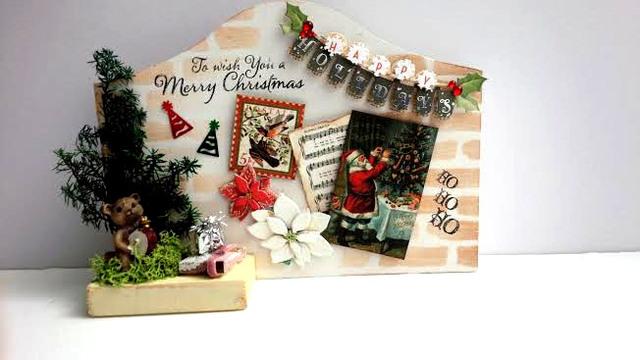 ミンネのクリスマス2015 コラージュ プラーク