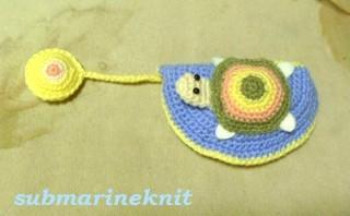 手編みマレット型用パターカバー