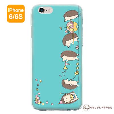 iPhone6/6Sケース 「はりねずみパレード」(ポストカード付)